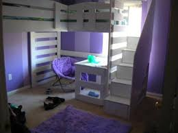 Purple Bunk Beds Purple Bunk Beds With Stairs And Desk Best Bunk Beds With Stairs