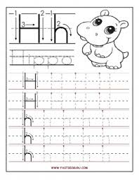 printable letter h tracing worksheets for preschool printable