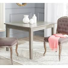 safavieh nathan ash grey dining table overstock shopping