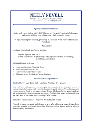 first time job resume examples resume for your job application
