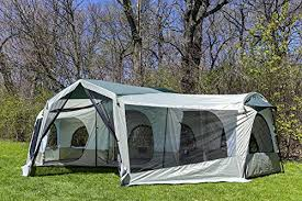 cabin tent tahoe gear carson 3 season 14 person large family cabin tent