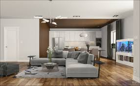 living room brown wood laminate flooring also light grey modern