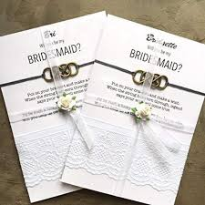 asking bridesmaids ideas top 20 best bridal party gifts cards heavy
