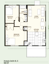 Cottage Floor Plans 1000 Sq Ft by Download House Plans Under 900 Square Feet Zijiapin