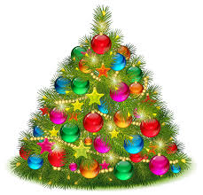 large transparent decorated tree png clipart gallery