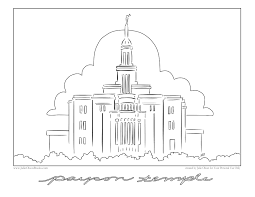lds conference center clipart 32