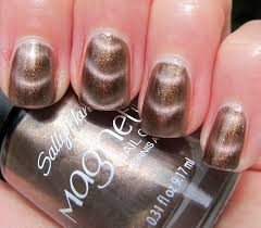 never enough nails sally hansen golden conduct magnetic polish