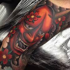 hannya mask tattoo black and grey 44 hannya mask tattoo meaning ideas designs japanese