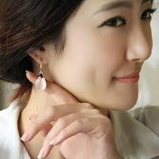 earrings on ear multicolor gold plated opal dangle earrings ear drop women jewelry