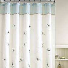 Home Classics Shower Curtain Home Classics Shower Curtain Shalimar Dragonflies Curtain