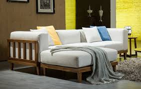 wood frame sofas with cushions frame decorations