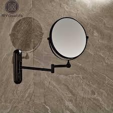 wall mounted extendable mirror bathroom aliexpress com buy bathroom magnifying mirror extending wall