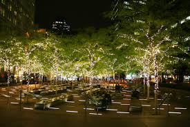 christmas light park near me file zuccotti park with christmas lights jpg wikimedia commons