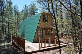 A Frames For Sale Tiny A Frame Cabin On 44 Acres For Sale In Arizona