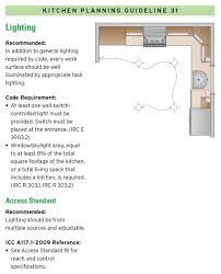 Kitchen Lighting Design Guidelines by 39 Best 14 Kitchen Design Guidelines Illustrated Images On