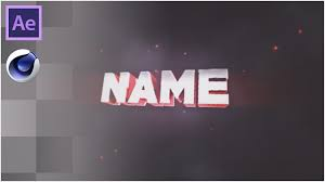 red u0026 white sync intro template cinema 4d u0026 after effects free