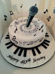 piano cake topper note cake topper edible piano decoration by black cupcake