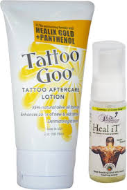 tattoo goo healix gold review tattoo goo healix gold panthenol lotion 2oz free heal it price