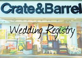 wedding registry for guys fresh coat of paint crate and barrel o you guys didn t tell