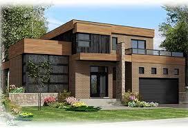 contemporary homes plans casa moderna y elegante lia con 3 dormitorios y 2 plantas