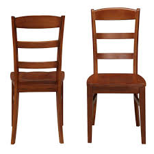 Dining Chair Cherry Home Styles Aspen Rustic Cherry Wood Ladder Back Dining Chair Set