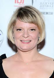 short hairstyles with side swept bangs for women over 50 martha plimpton short bob haircut with side swept bangs for women