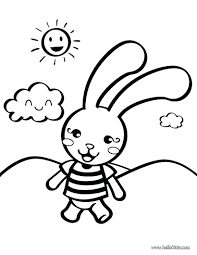 coloring pages bunny rabbit coloring pages for inspirations cute