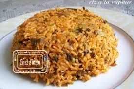 comment cuisiner du riz riz a la vapeur au poulet et legumes