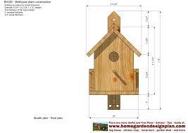 printable bird house plans home deco plans