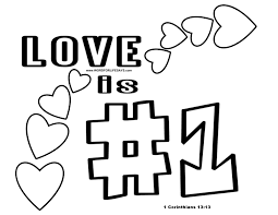 love is number one u201d sunday lesson 1 corinthians 13 1 13