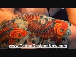top 10 koi fish tattoo designs youtube