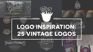 design inspiration 25 beautiful vintage logos for design inspiration