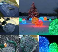 Diy Christmas Lights by Christmas Snow Ball Lights For The Lawn Love Christmas Magic