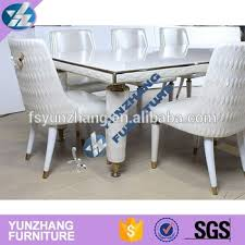 white mdf table top mdf table top white pu leather leg stainless steel table buy