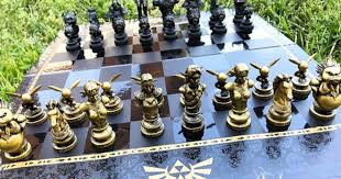 legend of zelda chess set shut up and take my yen