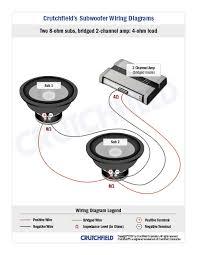 2 s 2 subs wiring diagram diagram wiring diagrams for diy car