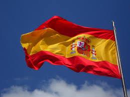 The Spain Flag Spain Flag In Pole Free Stock Photo