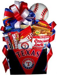 snack gift basket rangers snack basket