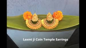 Buy Kasu Mala Lakshmi Ji Jijyra Product Mata Laxmi Ji Temple Earring Jewellery Youtube