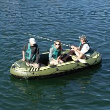 Outdoorsman Home Decor Solstice Outdoorsman Inflatable 6 Person Fishing Boat Walmart Com