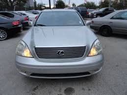 lexus ls 430 for sale by owner used lexus ls 430 for sale in houston tx edmunds