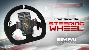 porsche steering wheel porsche steering wheel simfai solutions review youtube