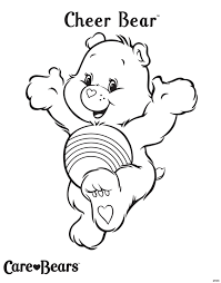 care bears coloring pages collecting stars coloringstar