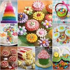 10 awesome ideas to decorate desserts with jelly beans