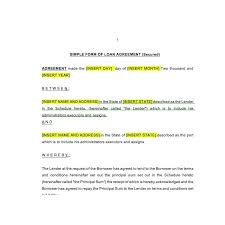 secured loan agreement law4us agreement template
