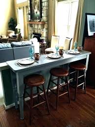 table that goes behind couch bar table behind couch
