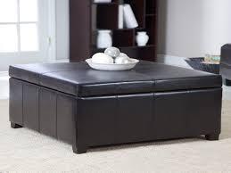 furniture round storage ottoman coffee table white round ottoman