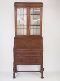 vintage bureau vintage oak bureau bookcase cabinet antiques atlas