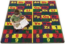 Daycare Rugs For Cheap Alphabet Rugs Kidcarpet Com