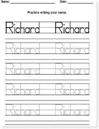free printable word tracing sheets make your own name tracing sheets for free no downloads necessary